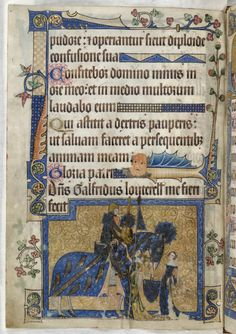 The Luttrell Psalter (England, 14th century)
