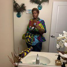 Sleeveless African Print Kimono African Kimono Kimono With African Prom Dresses, African Fashion Dresses, African Dress, Fashion Outfits, Poncho Cape, Balloon Skirt, Head Wraps For Women, Matching Couple Outfits, African Head Wraps