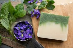 How to Create Custom Soaps From a Single Recipe - learn how to take one basic soap recipe and make a healing skin bar, sunflower soap and spring violet soap from it. Best Picture For diy body care how Soap Making Recipes, Homemade Soap Recipes, Soap Making Supplies, Cold Process Soap, Soap Molds, Home Made Soap, Handmade Soaps, Bar Soap, Single Recipe