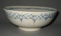 Punch Bowl, Stoneware, Salt glaze