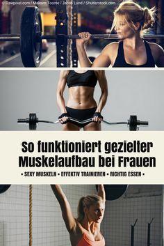 Hier verraten wir Euch, wie Ihr effektiv trainiert und richtig esst, um den Muskelaufbau voranzutreiben (Fitness Workouts Clothes)