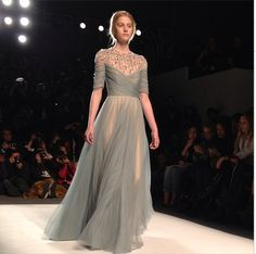 Jenny Packham Catwalk Fashion