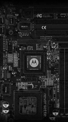 Motorola Machinery Wallpaper.