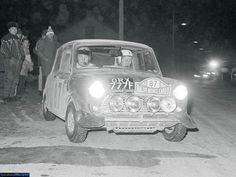 Original Mini Cooper Rally Car!