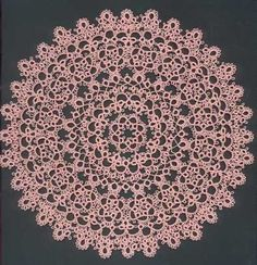 Mom's pink doily