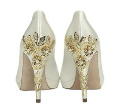 Trims & Embellishments Gallery Add one of our gorgeous shoe trims to another style on the website. Embellishments can be made in either silver or gold and t