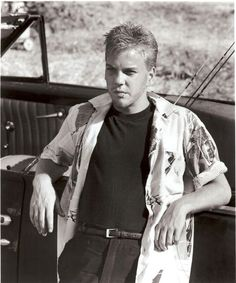 My fascination for Keifer all started when I saw him play Ace in Stand by Me.  Always loved his bad boy side.  To this date I own everything he has been in.