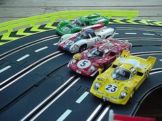 Slot cars and auto racing learning adventures - perfect together!
