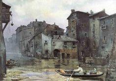 Gli acquerelli di Ettore Roelser Franz (Roma, 1845-1907)