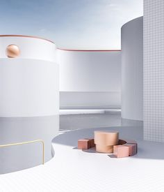 Architectural Spaces by Digital Artist Alexis Christodoulou – Trendland: Trends, Art, Design & Lifestyle Poster Xxl, Architecture Design, Interior Concept, Retail Design, New Wall, Interiores Design, Store Design, Interior And Exterior, Design Inspiration