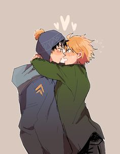 By @revolocities (twitter) - Ahhh Craig x Tweek! I love this ship >w< And this is adorable!