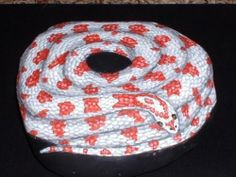 """""""Candy Cane"""" Corn Snake Hand Painted Rock"""
