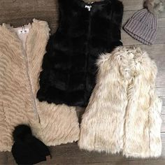 Stay warm and cozy in Faux Fur