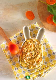 Recette bébé 8 mois : Poulet, carottes et épinards. #recettebébé midi #recette facile #menubébé
