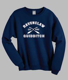 Ravenclaw Quidditch Harry Potter T-Shirt von WhateverTshirts