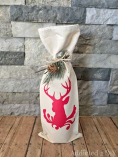 Quick and Easy DIY Wine Bags