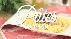 Recette de Gratin de pâtes au thon et petits pois, sauce béchamel légère