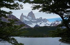 Patagonia, Argentina at Monte Fitz Roy on the Lago Capri hike