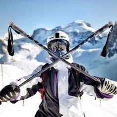 Getting extreme at Euro X Games #eurox #gopro #skiing #xgames #tignes #france