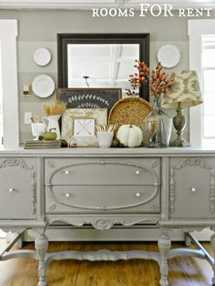 CasaGiardino Love Everything About This Buffet Rooms FOR Rent Painted Antique Reveal