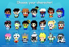Granos de Overwatch-todos personajes-llavero-ORIGINAL diseño-hama cuentas perler