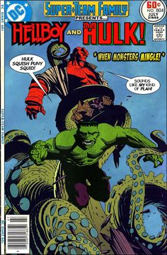 Super-Team Family: The Lost Issues!: Hellboy and The Hulk