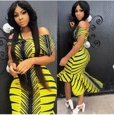 Most stylish collection of ankara short gown styles of 2019 trending today, try these short ankara gown styles Short African Dresses, Ankara Long Gown Styles, Ankara Short Gown, Short Gowns, Ankara Gowns, Latest Ankara Styles, African Print Dresses, Kente Styles, Ankara Blouse