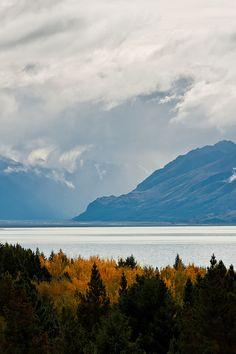 Lake Pukaki, New Zealand by Connis and Arthur