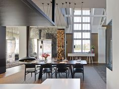 A former army barracks in Esslingen, Germany, transforms into a loft full of exquisite modern design details and unusual touches.