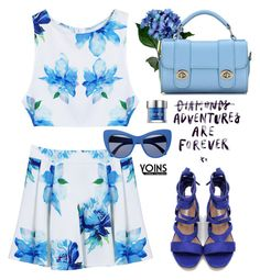 """Yoins.com nº13: Adventures are forever"" by hamaly ❤ liked on Polyvore featuring STELLA McCARTNEY and Urban Decay"