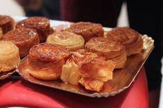 Perfect for winter and hailing from Brittany, the Kouign Amann is a baked treat that translates to 'Kouign' cake and 'Amann' butter. Heavy on butter, this delectable sweet has layers of a firm dough folded with butter and sugar between. After baking the sugar seeps through and caramelizes the outside, leaving the outside soft. Yum!