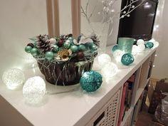 Provázkové koule na svítící řetěz/ diy cotton ball - YouTube