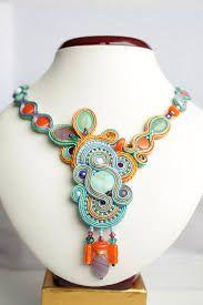 Resultado de imagen de soutache necklaces