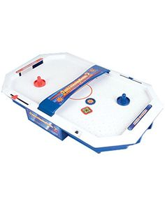 "Mini (21"") Table Top Air Hockey Game Rhode Island Novelty http://www.amazon.com/dp/B00J7MF5S4/ref=cm_sw_r_pi_dp_BSCVub179KPR6"