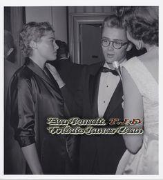 James Dean and Ursula Andress and Shirley Thomas (NBC Radio)