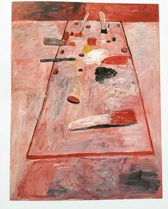Philip Guston, Painting Table, 1975 #philipguston