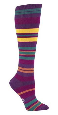 Sock It To Me PURPLE HAZE STRIPE Curvy Womens « Holiday Adds