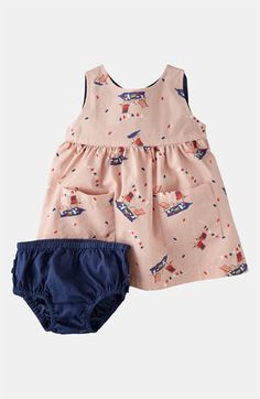Mini Boden Wrap Dress (Infant) available at #Nordstrom