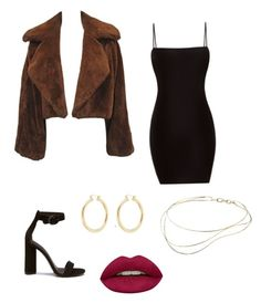 """Out on the town"" by lilyrusso ❤ liked on Polyvore featuring Isabel Marant, Elsa Peretti and Huda Beauty"