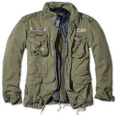 BRANDIT M65 GIANT MENS MILITARY PARKA US ARMY JACKET WINTER ZIP OUT LINER OLIVE | Clothes, Shoes & Accessories, Men's Clothing, Coats & Jackets | eBay!