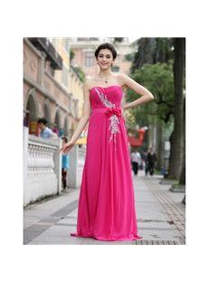 Elegant Sweetheart A-line Floor-length Sweetheart Beading Prom Dress & inexpensive Bridesmaid Dresses