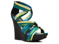 Michael Antonio Gheza Wedge Sandal Wedges Sandal Shop Women's Shoes - DSW $54.95