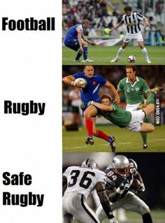 As a rugby player...