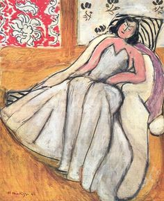 Girl with a Fur Coat, 1944 - Henri Matisse - WikiArt.org