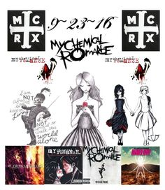 """""""MCR {{9~23~16}}"""" by my-all-time-romance-21 ❤ liked on Polyvore"""