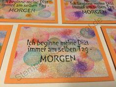 #ATC Zukunft ATC Future Artist trading cards #StempelSissi #Sissi_s_kreatives_Kämmerlein