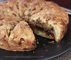 Cinnamon Stuffed Scones, can't imagine the smell of your kitchen with this baking in it!