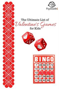 The Ultimate List of Valentine's Games for Kids. Find the perfect idea for your party.