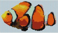 ClownFish Peyote stitch PATTERN