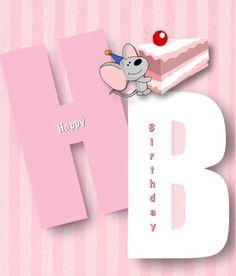 Happy birthday, rayo citó con una rebanada de pastel
